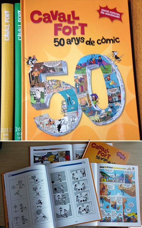 Cavall Fort us regala un llibre de còmic!