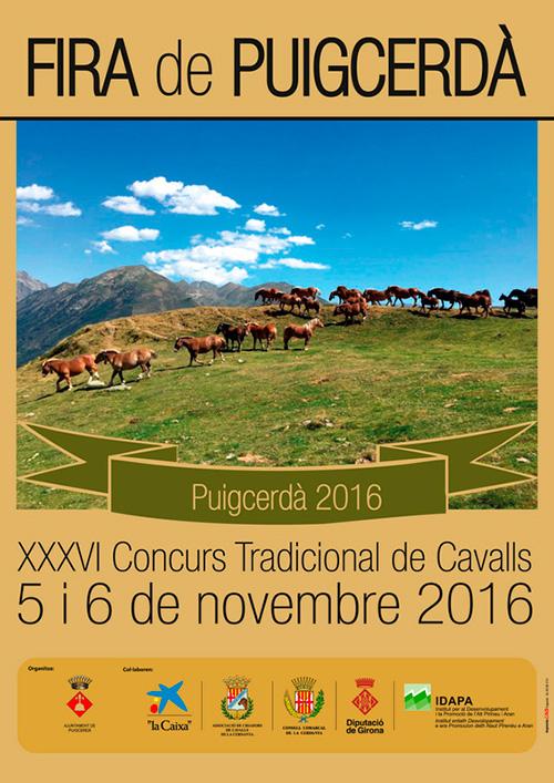 XXXVI Concurs Tradicional de Cavalls de Puigcerdà