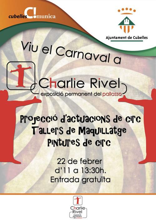 Prepara't pel Carnaval a l'Exposició Permanent de Charlie Rivel de Cubelles
