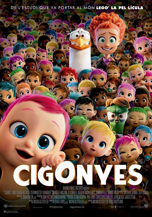 Cigonyes', al cinema i en català