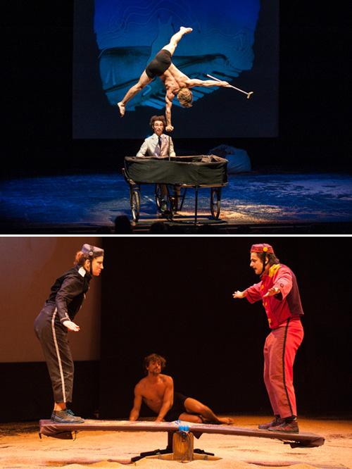 Espectacle de circ 'Per un desig' al Casino l'Aliança Poblenou