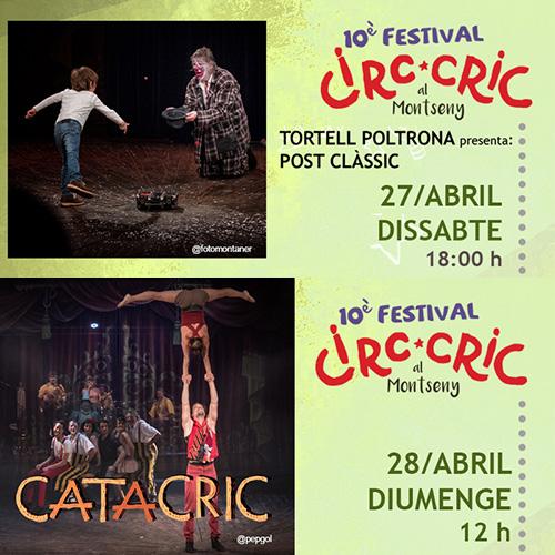 Post Clàssic i Catacric al Circ Cric