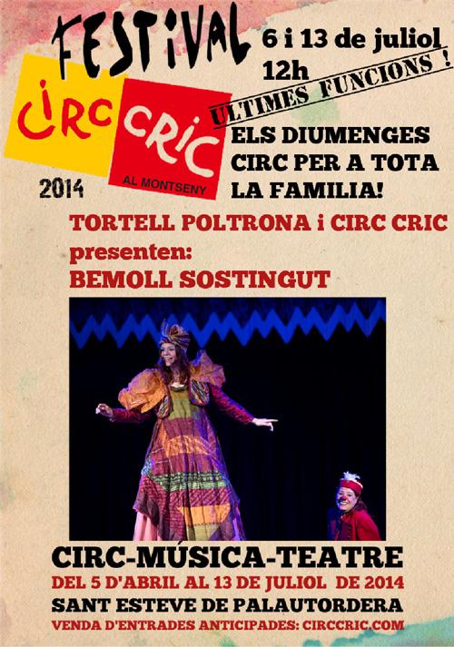 Últimes funcions del Festival Circ Cric al Montseny