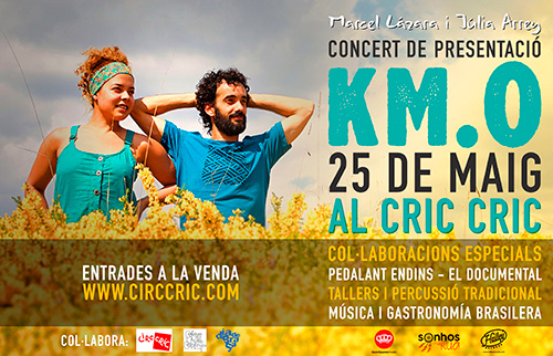 Brasil arriba al Festival Circ Cric de la mà de Marcel Là¡zara i Júlia Arrey