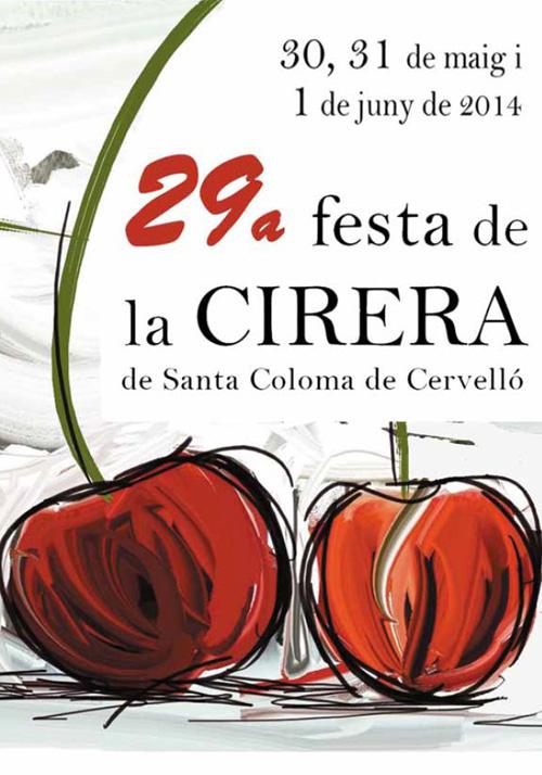 29a Festa de la Cirera de Santa Coloma de Cervelló