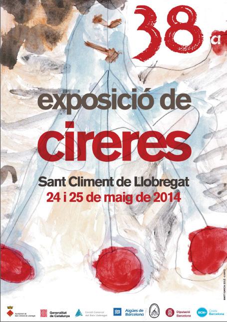 38a Exposició de Cireres a Sant Climent de Llobregat