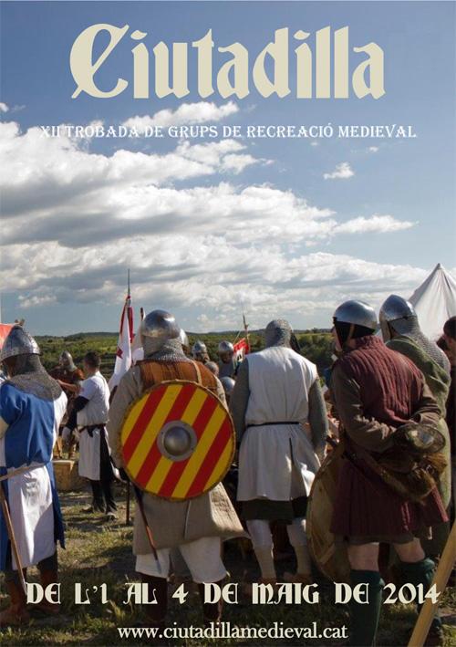 Trobada de grups de recreació medieval a Ciutadella