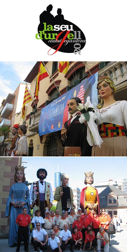 La Seu d'Urgell, Ciutat Gegantera de Catalunya