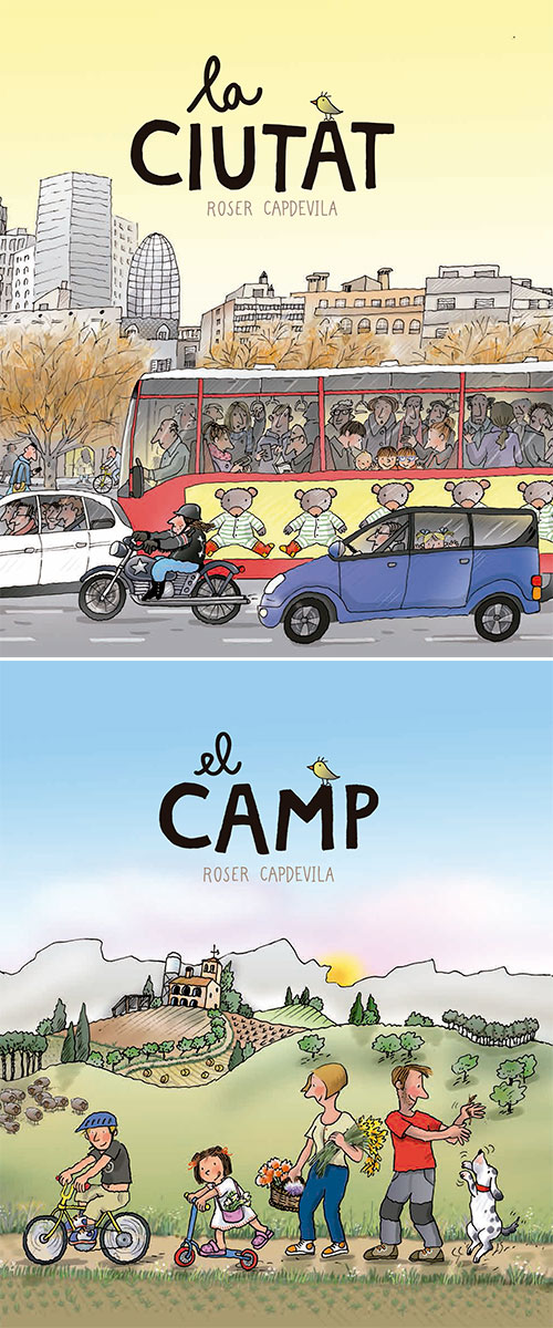 'La ciutat' i 'El camp', amb Roser Capdevila