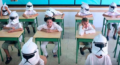 Tornada a a l'escola a l'estil Jedi