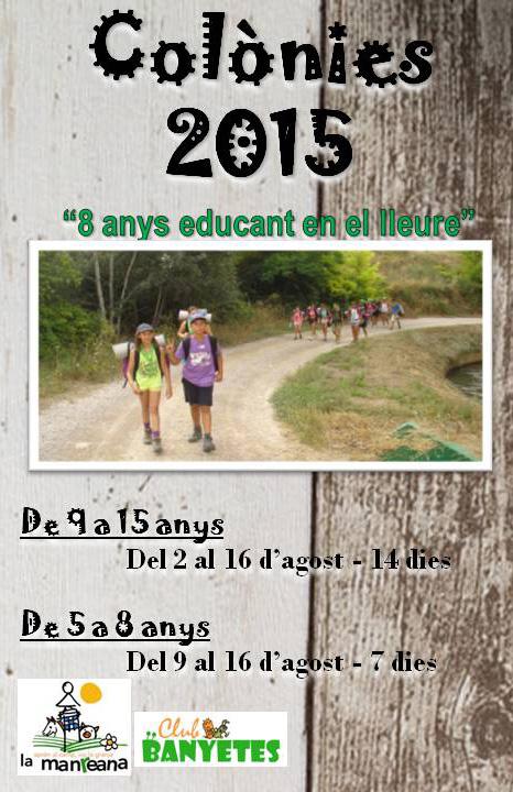 Summer Camp juliol i agost a la Manreana