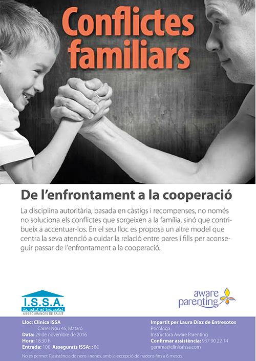 Xerrada-taller 'Conflictes familiars'