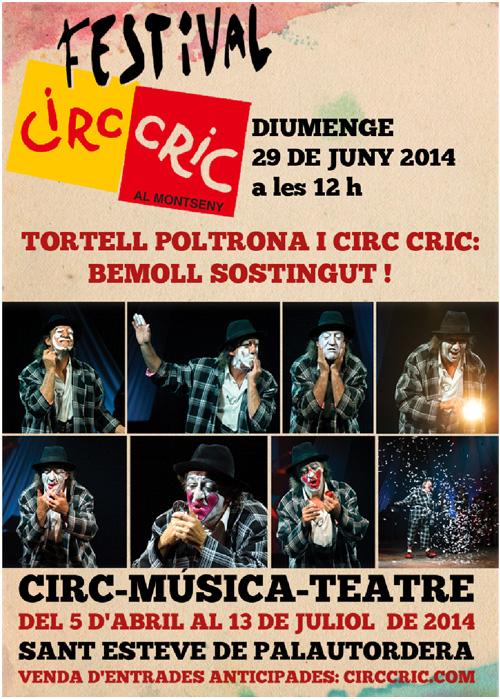 Tortell Poltrona i Circ Cric: Bemoll Sostingut!