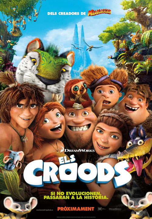 Estrena d'Els Croods