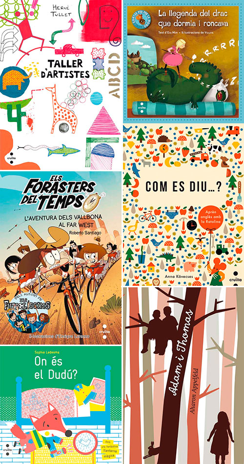 Novetats de l'editorial Cruïlla i signatura de llibres per Sant Jordi