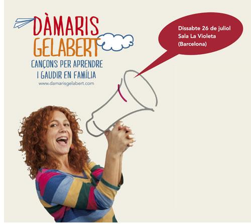 Guanyador de les entrades pel concert de la Dàmaris Gelabert a Barcelona