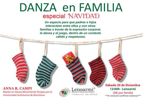 Dansa en família a Lenoarmi, Especial Nadal