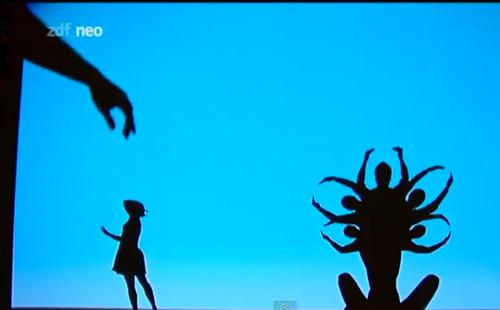 Un gran espectacle d'ombres xineses