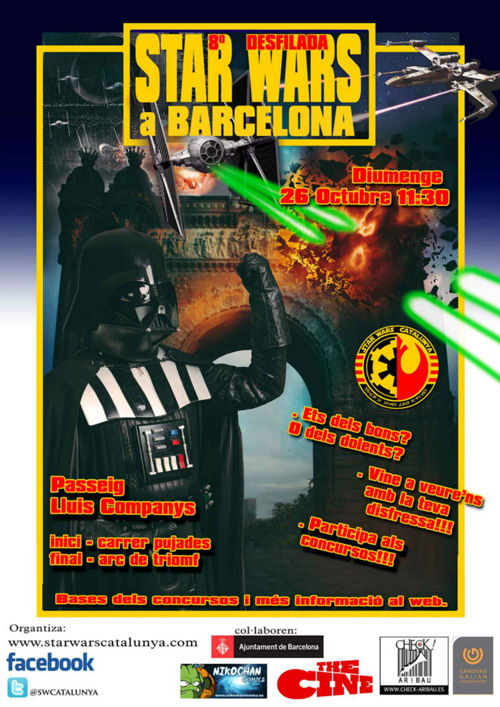 8ena Desfilada Star Wars a Barcelona