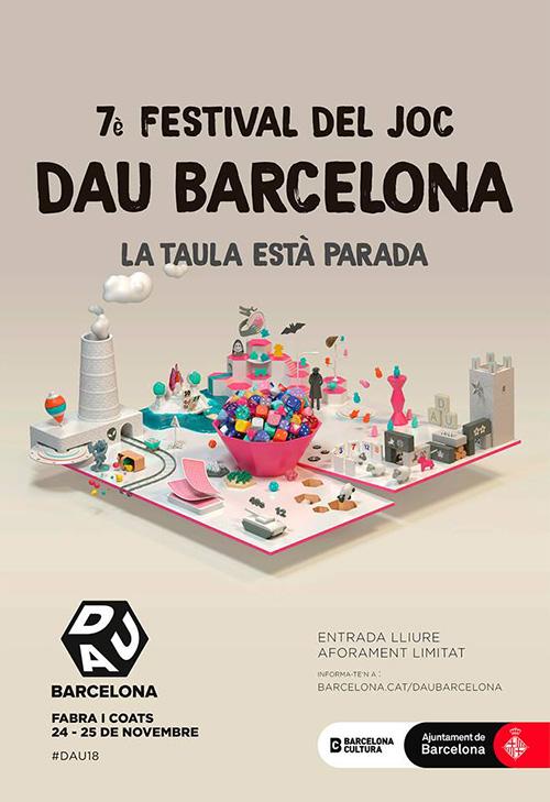 Dau, el festival del joc de Barcelona