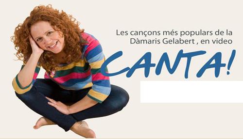 Esprint final pel DVD Canta de la Dàmaris Gelabert
