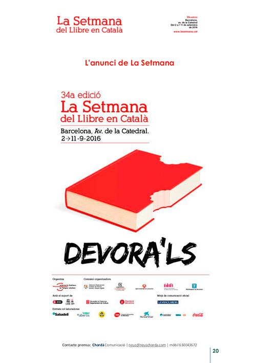 34a Setmana del Llibre en Català a Barcelona