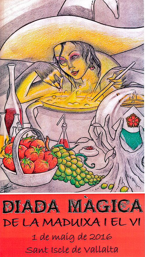 17a Diada Màgica de la Maduixa i el Vi a Sant Iscle de Vallalta