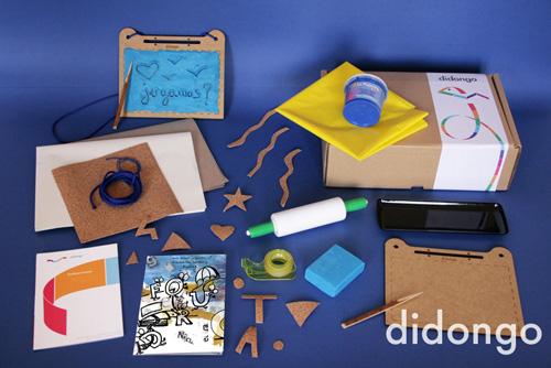 'Festa de Lletres i Figures', el kit d'abril de Didongo