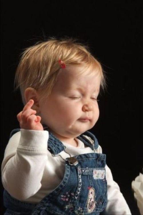 10 fotos de bebès dolents