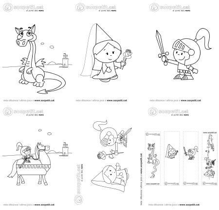 Dibuixos de Sant Jordi