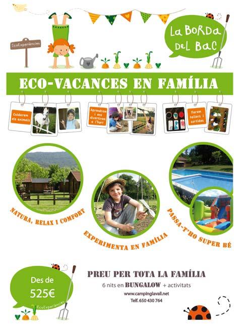 Eco-vacances en bungalow a La Vall de Campmajor