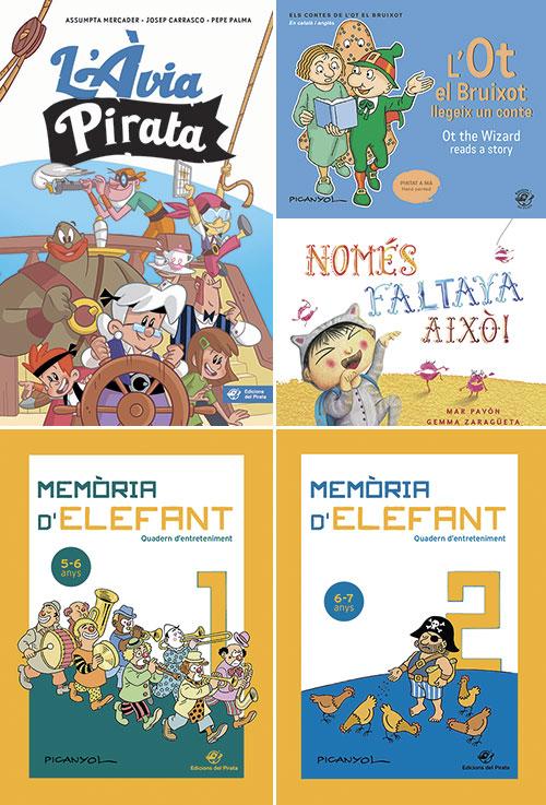 Propostes d'Edicions del Pirata per Sant Jordi