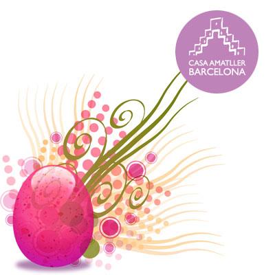 Vine a decorar el teu ou de Pasqua!