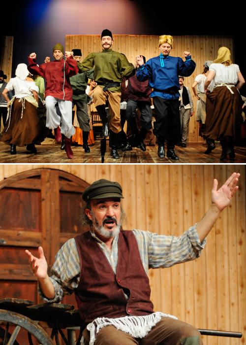 Promoció Estrena de 'El violinista a la teulada!' al Teatre Poliorama