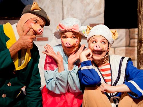 'Els Tres Porquets' al Jove Teatre Regina