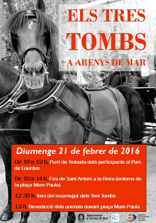 Festa dels Tres Tombs a Arenys de Mar
