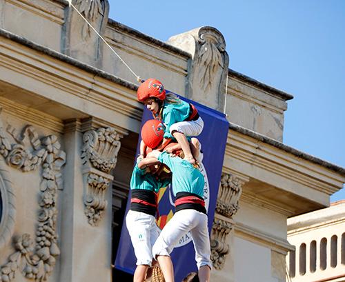 Els Castellers de Vilafranca i la Xarxa impulsen un concurs televisiu per trobar els millors 'Súperenxanetes'