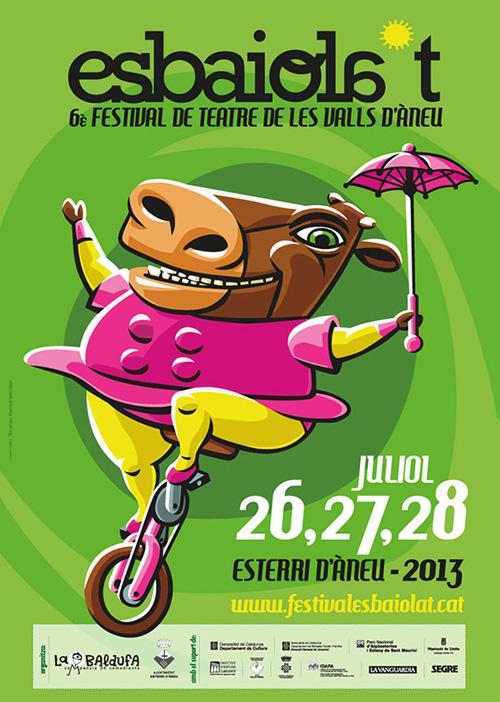 Esbaiola't. Festival de teatre de les Vall d'Àneu