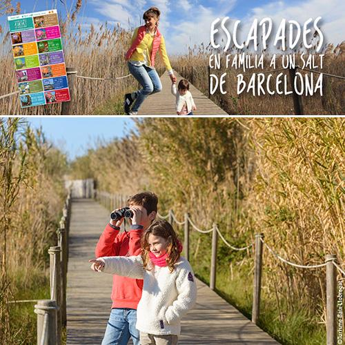 Escapades en família a un salt de Barcelona