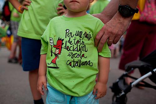La comunitat educativa s'oposa al 155