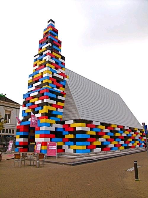 Una església Lego