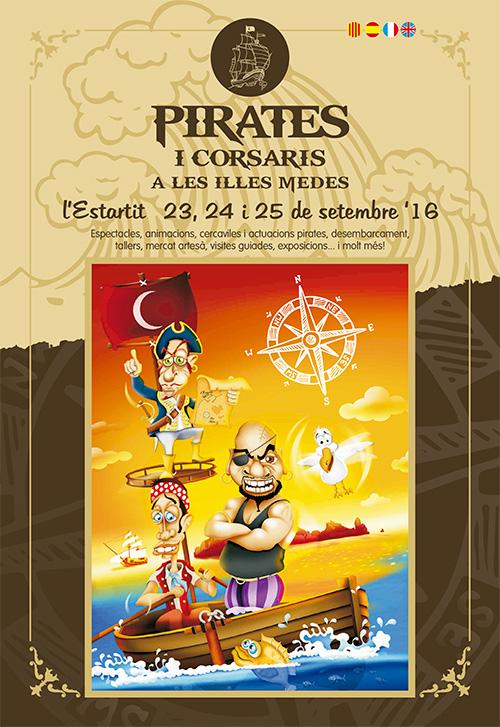 Pirates i Corsaris a les Illes Medes