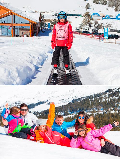 Escapades familiars de neu per Carnestoltes a un preu excepcional!