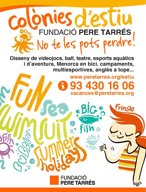 Colònies d'Estiu a la Fundació Pere Tarrés