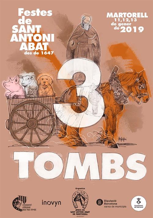Festes de Sant Antoni Abat a Martorell. el Baix Llobregat