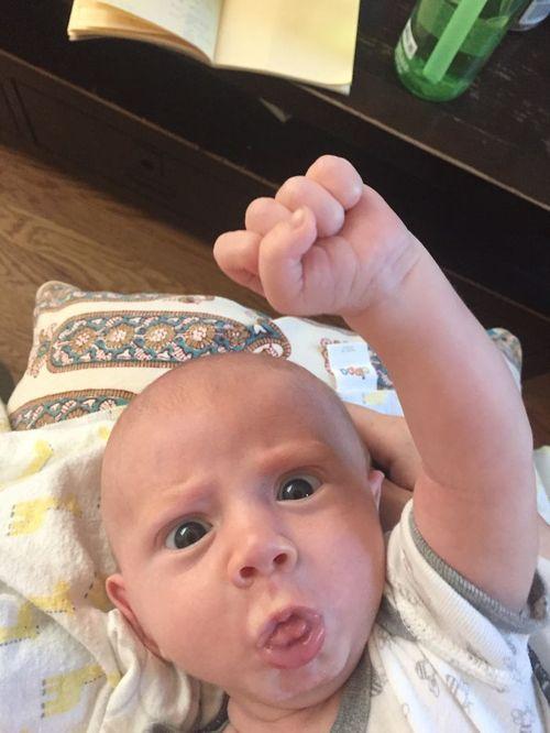 El meu bebè és molt expressiu