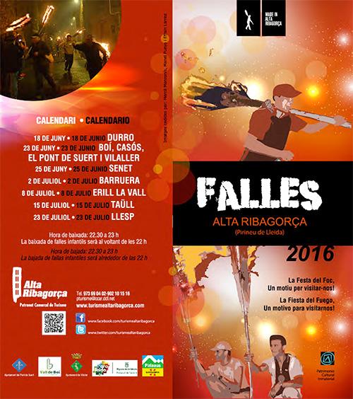Festa de les Falles a les Valls de Boí