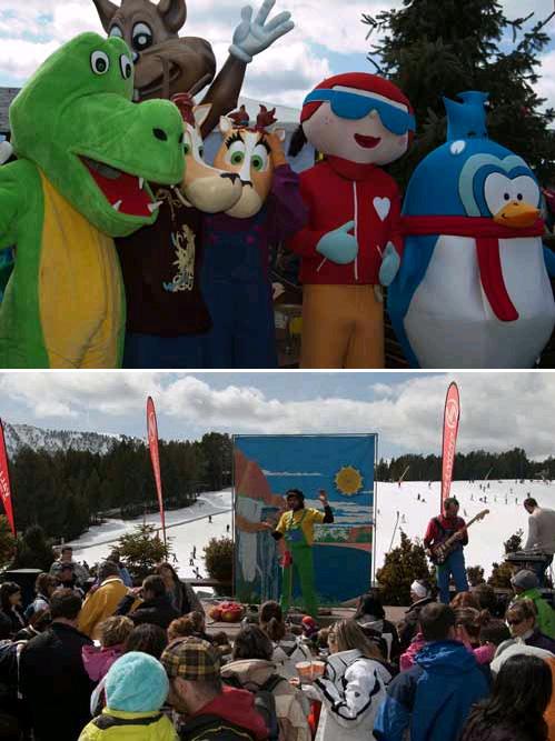 Festa de la Neu pels més petits a Vallnord