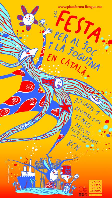 9ena Festa per al joc i la joguina en català