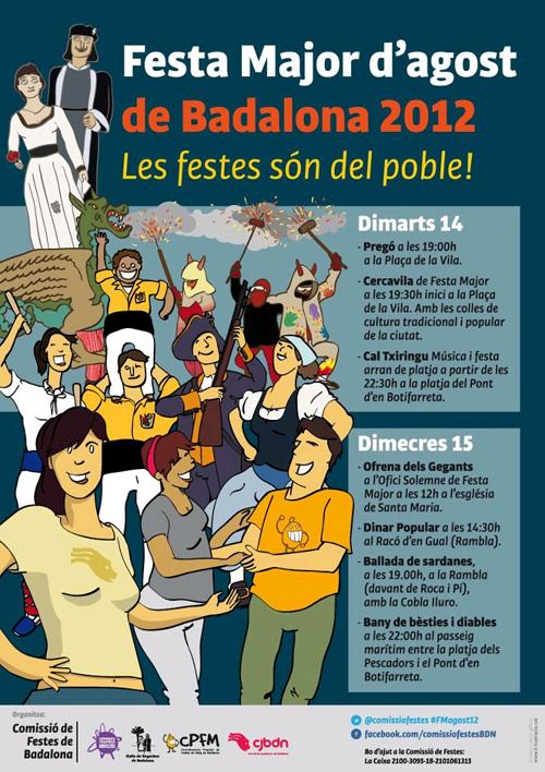 Festa Major de Badalona d'agost 2012 (no oficial)